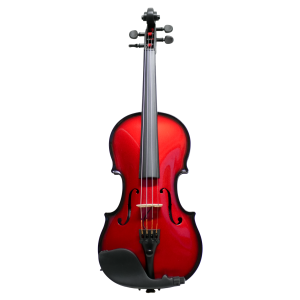 Red Carbon Violin